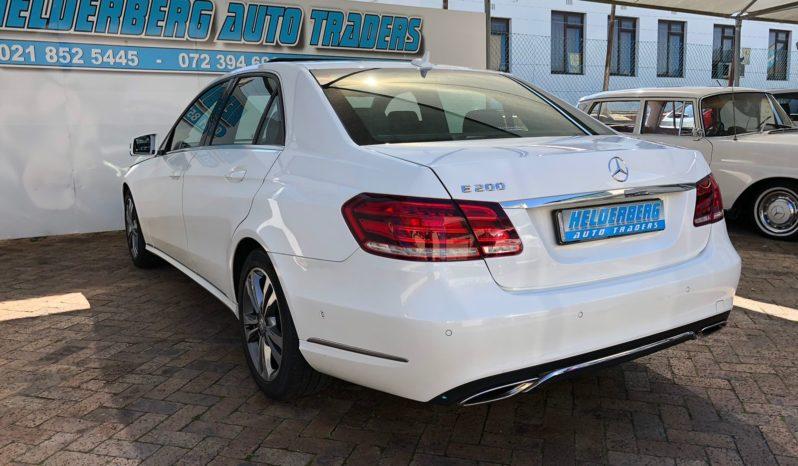 2014 Mercedes Benz E200 Auto full