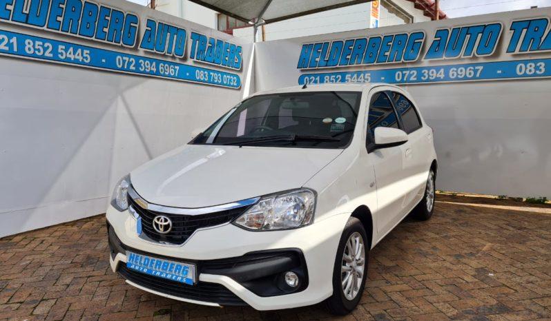 2020 Toyota 1.5 XS Sprint full